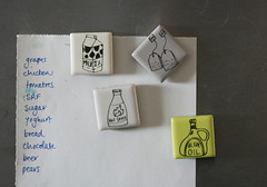 Supermarketmagnets (ArtMind etcetera) Tags: food mall shopping fridge supermarket housewarming groceries collaboration transfers magnetboard mar20 annarubyking artmind lilarubyking