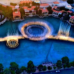 The Bellagio Fountains...