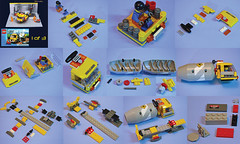 lego cement truck instructions