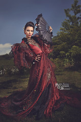 Filipiniana (Joffry Ferrater) Tags: red fashion cebucity filipiniana doncristobal photographersclubofcebu serendipitygroup joffryferraterphotography