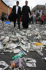 IMG_9110 (Armend Kabashi) Tags: world street people cloud pope vatican rome church saint canon john francis paul europe catholic flag ceremony christian peter benedict canonisation