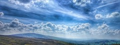 Welsh hills and big skies. Good day off. (simondbarnes) Tags: wales big day skies sunny off mtb llandegla