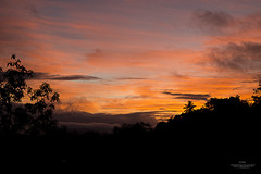 Morning colors (E S M Photography) Tags: morning trees sky cloud mountain colors field clouds sunrise landscape outdoor dusk caribbean serene mountais