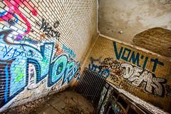 Almost Doesn't Count (Thomas Hawk) Tags: usa abandoned graffiti unitedstates michigan unitedstatesofamerica detroit mcs vomit corktown michigancentralstation michigancentraldepot