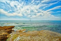 Primavera en el mar Mediterrneo. Spring in the Mediterranean Sea (Alejandro Gonzlez i Mas) Tags: sea primavera mar spring sailing ship mediterrneo velero mediterrnea