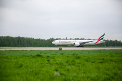 DME Airport Spotting (Andrey Wild) Tags: plane airplane airport emirates spotting dme domodedovo