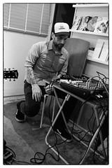 Toshimaru Nakamura/Tetuzi Akiyama/Shayne Bowden @ Bar Buena, Shinjuku, Tokyo, 30th April 2016 (fabiolug) Tags: leica blackandwhite bw music monochrome hat 35mm tokyo blackwhite concert shinjuku live gig livemusic performance rangefinder summicron improvisation electronics improv monochrom biancoenero leica35mm leicam 35mmsummicronasph tetuziakiyama leicasummicron toshimarunakamura summicron35mmf2asph 35mmf2summicronasph summicronm35mmf2asph improvisedmusicfromjapan shaynebowden mmonochrom leicammonochrom leicamonochrom barbuena