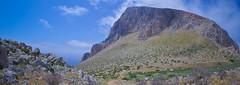 Riserva Naturale Orientata Monte Cofano (Michael Adams in Amsterdam) Tags: panorama landscape places sicily montecofano