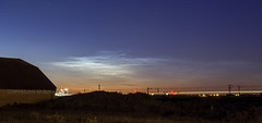 NLC Trails (Rossco156433) Tags: light sky cloud nature night dark outdoors scotland nightime nlc ayrshire noctilucentclouds barassie southayrshire