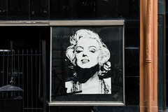 Marilyn (Marcy Leigh) Tags: street art marilyn marilynmonroe cracked