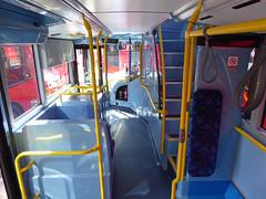 GAL MHV17 - BU16OZE - INTERIOR - BV BUS GARAGE - THUR 28TH APR 2016 E (Bexleybus) Tags: bus london ahead volvo interior garage go egyptian belvedere bv bodywork mcv goahead evoseti mhv17 bu16oze