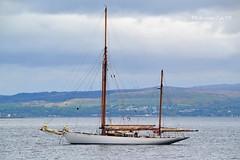 Kentra (Zak355) Tags: scotland riverclyde boat sailing ship yacht scottish sail masts ketch bute rothesay isleofbute kentra fifeclassic