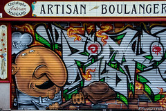 Pop boulange / Pop bakery - Rouen (christian_lemale) Tags: france graffiti nikon tag graf rouen d7100
