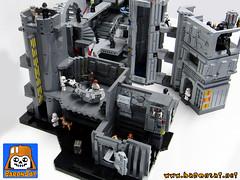 DEATH STAR WORLD : Leia's Escape (baronsat) Tags: death star escape lego collection micro wars leia