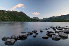 A Familiar View (Peter D Middleton) Tags: uk lake colour beautiful clouds landscapes rocks long exposure district calm cumbria ullswater
