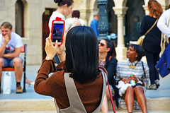 selfies at Fisherman Bastion ,Budapest (misi212) Tags: people fisherman budapest bastion selfies
