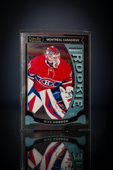Mike Condon Marquee Rookie Platinum (cdn_jets_cards) Tags: ice sports hockey cards marquee nhl habs foil montreal deck upper platinum canadiens rookie rookies nhlpa