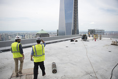 4 WTC 57th Floor Terrace June 2013 (Tony Shi, Life) Tags: nyc newyorkcity ny newyork worldtradecenter wtc lowermanhattan worldtradecenters downtownmanhattan 4wtc 150greenwich