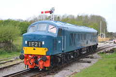 Class 46 Peak D182 / 46045 (Will Swain) Tags: uk travel england west english heritage train during diesel britain south norden transport may peak rail railway trains class southern vehicles vehicle preserved railways 7th gala isle swanage purbeck 46 2016 46045 d182