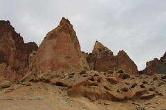Rock formations (rozoneill) Tags: lake oregon river carlton butte desert hiking painted canyon vale trail backpacking saddle blm uplands owyhee honeycombs