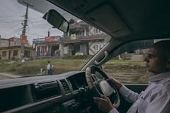 (Alek S.) Tags: nepal car rain driver pokhara