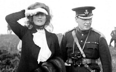 Winston Churchill and his wife Clementine, during a visit to Aldershot, Hampshire, for army manueuvres, 1910 [330 x 528] #HistoryPorn #history #retro http://ift.tt/20uKdqi (Histolines) Tags: history army during for visit hampshire x retro 330 churchill his wife timeline 1910 clementine winston aldershot 528 vinatage historyporn histolines manueuvres httpifttt20ukdqi