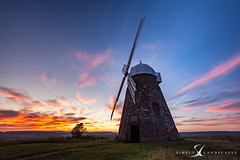 Halnaker Windmill  6323 (simply-landscapes.co.uk) Tags: blue sunset summer windmill clouds canon out walking outdoors sussex countryside nationalpark picnic windmills canvas adventure national trust about local nationaltrust cloudporn 6d countrywalks halnaker halnakerwindmill leefilters canon6d