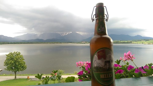 153 Fire Evening Beer - English for Runaways #Allgäu #Hopfensee