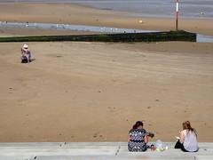 margate (steve marland) Tags: uk sea portrait england coast kent seaside seafront margate sunbathing britishseaside