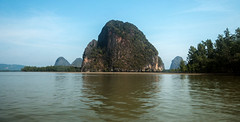 IMG_9111 Phang Nga National Park,Thailand (suebmtl) Tags: thailand aophangngamarinenationalpark seascape karst mountains