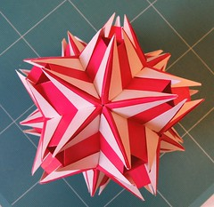 Jaciara (desined by Ekaterina Lukasheva) (JakubSolovsky) Tags: origami modular kusudama