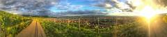Korb (Gernot_) Tags: panorama vineyard view stuttgart hill hdr korb sunglance