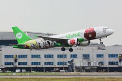AirAsia 9M-AHR Airbus A320-216 (James.Chang.1995) Tags: brown line airbus a320 airasia rctp  a320216 9mahr