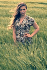 Field of dreams (Clandrew) Tags: nature beauty model cornfield natural outdoor location locationshoot drewanderson outdoorshoot lucypaull