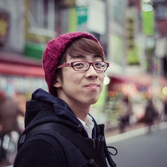 Daiki (Dark Flash) Tags: city portrait smile japan 50mm tokyo nikon friend tour japenese daiki