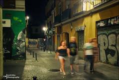 At Night (Melchita) Tags: street spain colorphotography streetphotography streetscenes urbanscenes urbanlife urbanphotography streetcolor streetphotographycolor melchita olympusstylus1s