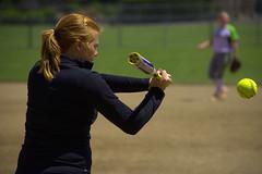 Pregame Warm Up (swong95765) Tags: woman game sports female ball coach bat softball warmup