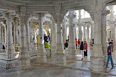 DSC_9395jaincolumns (BasiaBM) Tags: india temple jain ranakpur