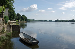 Bouchemaine (Maine-et-Loire) (sybarite48) Tags: france rio ro river boot boat barca barco fiume rivire bateau fluss brace  d  maineetloire rivier nehir tekne   rzeka  bouchemaine