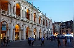 Vicenza Basilica Palladiana (T.S.Photo (Teodor Sirbu)) Tags: evening italia basilica vicenza palladio palladian