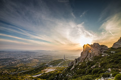 Athens sunset (SotirisS.) Tags: sunset colors clouds canon athens sharp greece 28 6d 14mm samyang
