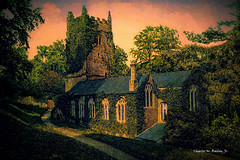 Digital Oil Painting of a Church in Cockington, England by Charles W. Bailey, Jr. (Charles W. Bailey, Jr., Digital Artist) Tags: england art church photomanipulation photoshop painting europe village unitedkingdom fineart digitalart visualarts devon torquay rembrandt oilpainting topaz cockington digitalartist topazlabs topazadjust topazdenoise topazdejpeg topazclarity topazrestyle charleswbaileyjr