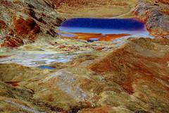 Red Lake of Doom (Dru!) Tags: red lake canada bc britishcolumbia delta glacier sediment doom mitchell geology coastmountains ironcap skarn boundaryranges