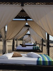 Beach Beds (jenthepen8) Tags: beach mexico beachbed cabosanlucas
