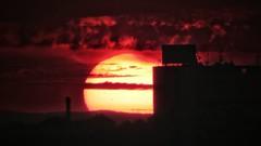 The end is near (I.C. Photo) Tags: sunset belgrade beograd serbia srbija sun bloodred dramatic