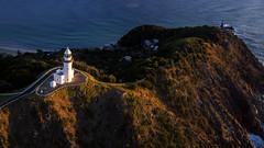 Cape Byron (Jay Daley) Tags: lighthouse sunrise aerial byronbay x5 capebyron dji inspire1pro