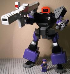 MS-09B Dom (graybandit2000) Tags: lego dom gundam mecha legomecha legogundam legodom