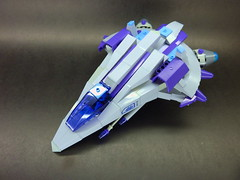 F - 6 Hawk (B) (SuperHardcoreDave) Tags: fighter lego tech future spaceship weapons starship moc starfighter spacefighter