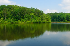 Big Hill Pond State Park (bhophotos) Tags: trees usa lake reflection nature landscape geotagged nikon tennessee nikkor midsouth westtennessee d80 mcnairycounty 2470mmf28g bighillpond bighillpondstatepark bruceoakley travismcnattlake