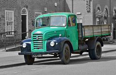 Fordson Thames 4D Lorry (Alan Burkwood) Tags: thames day 4d charter 2012 retford fordson